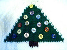 Customized Christmas Tree Sweater Handmade for 18 inch American Girl Doll
