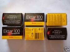 Pellicules films 24x36 Kodak Ektar photo 100 asa iso x6