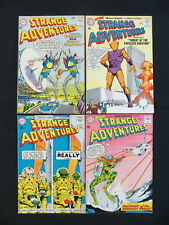 STRANGE ADVENTURES 4 ISSUES SILVER AGE COMIC LOT #151,153,154,155  COMIC LOT