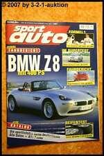 Sport Auto 3/00 BMW Z8 Porsche Turbo Subaru Impreza GT