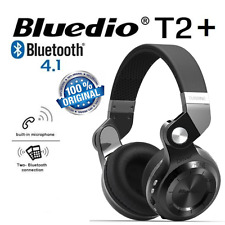 Bluedio T2 Plus Wireless Bluetooth V4.1 Headphones Micro SD / FM / HiFi / Mic