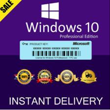 Microsoft Windows 10 PRO 32 / 64BIT PROFESSIONAL ✅ LICENSE KEY ✅