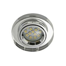 Briloner 7201-010 LED Einbaustrahler 1x3W GU10 Acryl klar EBL IP23 Aufbauleuchte
