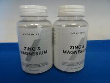 MYVITAMINS - ZINC & MAGNÉSIUM - 180 CAPSULES (2x90) - 07/2021