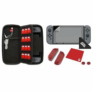 PDP Official Nintendo Switch Starter Kit - Mario Icon Edition