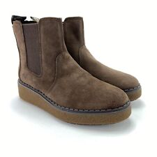 Timberland Women's Bluebell Lane Dark Brown Suede Chelsea Boots Size 9.5 M