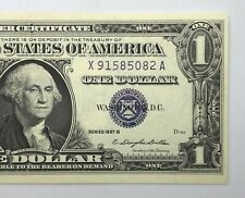 1957 Silver Certificate 1$ Dollar Note Uncirculated (P222)