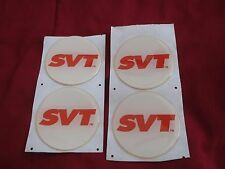 FORD SVT MUSTANG COBRA CONTOUR LIGHTNING FOCUS WHEEL CENTER CAP EMBLEMS 2 1/4 W