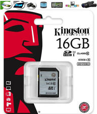 16GB KINGSTON MEMORY CARD SD per Nikon D3100,D5100,D7000,D90 fotocamera