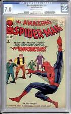 Amazing Spider-Man #  10  1st app. of the Enforcers !  CGC 7.0  scarce book!