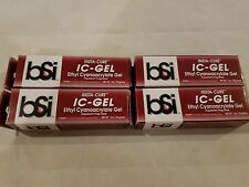 4 Tubes BSI IC-GEL 20gm Tube - Coral Frag Glue Super Glue - Free Ship