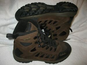 Cabela's men's Snow Runner model leather hiking/work boots (style 83-0535) 10 D