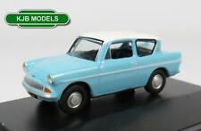 BNIB OO GAUGE OXFORD 1:76 76105007 ANGLIA BLUE & WHITE CAR (HARRY POTTER CAR)