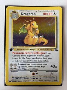 Pokémon Dragoran 4/62 - Fossil 1.Edition - Deutsch - NM