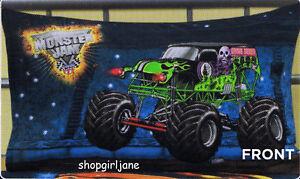 Monster Jam Trucks - Grave Digger Mutt Maximum D - Pillowcase