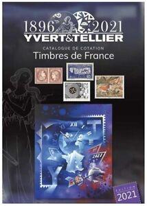 Catalogue Yvert & Tellier - France - Côte des timbres - 2021
