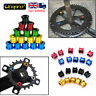 4/5PCS Single/Double/Triple Chainring Bolts AL7075 MTB Road Bike Chainset Screws