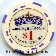 1.00 Chip from the Texas Station Casino in Las Vegas Nevada