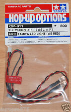 Tamiya 53911 LED Light (5mm Red) (Use with TLU-01 & TLU-02), NIP