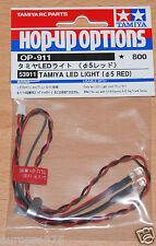 Tamiya 53911 LED Light (5mm Red) (Use with TLU-01 & TLU-02), NIP