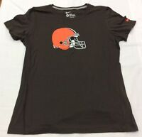 NFL Boys Nike Cleveland Browns Team Helmet Logo T-Shirt, Brown