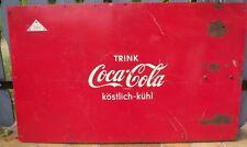 """Blechschild Ersatzteil für Automat """"Silo"""" Kühltruhe Kühlbox Reklame COCA COLA"""