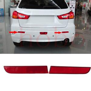 2xFor Mitsubishi Outlander Sport ASX 2011-12 Rear Left Right Fog Tailllight Trim