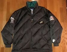 Vintage 90s Philadelphia Eagles Pro Player Down Feather Puffer Jacket XL
