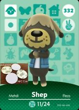 Shep NFC Tag/Coin Amiibo Card Animal Crossing New Horizons! Free Shipping!