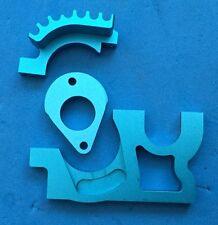 -- Blue Alloy CNC Motor Mount TU0415 - NEW - Team C TM2 T4 TR04 - Ansmann --