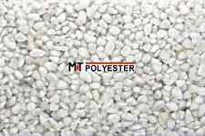 25 kg Marmor Marmorsplitt BIANCO-CARRARA WEISS Steinteppich 2/4 mm (Nur0,87€/kg)