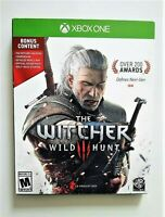 The Witcher 3: Wild Hunt (Xbox One, 2016) Complete CIC OEM Map + Soundtrack!