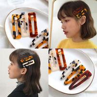 1PC Barrette Small Hair Clips Slide Multi-Color Clip Girl Women Accessories UK