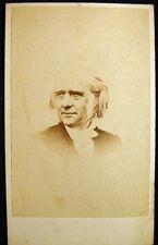 CIRCA 1860s CDV PHOTO THOMAS GUTHRIE SCOTLAND BY MARTIN PHOTOGRAPHIST MONTREAL