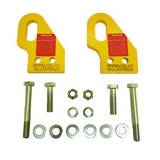 Brand New Recovery Towing Rated Point Pair For Toyota Prado FJ120 Series