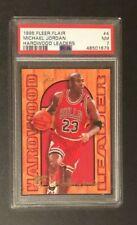 1995 Fleer Flair Basketball Michael Jordan Hardwood Leaders #4 PSA 7 NM FREE SH