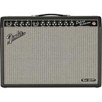 Fender Tone Master Deluxe Reverb 100W 1x12 Guitar Combo Amp Black