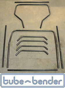 Land Rover Defender 90 110 Full External Roll Cage Kit Form Steel Tube