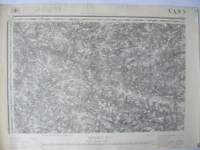 Carte d'État-Major Vannes Nord-Ouest 1887