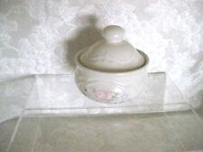 Pfaltzgraff TEA ROSE Pattern Round Butter Tub Dish w Lid made USA Vintage  #ER