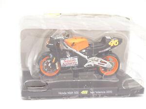 Altaya 1/18 - Moto Honda NSR 500 Test Valencia 2000