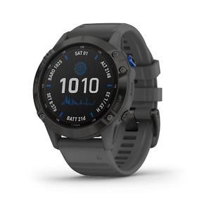 Garmin Fenix 6 Pro Solar Premium Multisport GPS Smartwatch Black