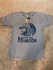 Jose Bautista Bat Flips to the Moon  T shirt Mens Size Large  Toronto Blue Jays