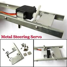 Upgrade Metal Steering Servo Fixed Mount Bracket for WPL Military Truck RC Cars