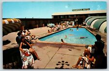Shamrock Motel in Dallas, Texas Highways 67 and 80 East Chrome Postcard