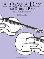 A Tune a Day String Bass Book 1 NEW 014034225