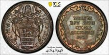 Q27 Italy Papal States 1685-AN Testone PCGS MS-64 Top Pop:1/0 Finest Known!