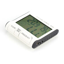 LCD Digital Indoor Outdoor Weather Hygrometer Thermometer Humidity Meter C/F
