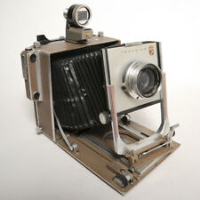 "LINHOF SUPER TECHNIKA 5X7"" 13X18cm con VIEW FINDER e SCHNEIDER SYMMAR 240/5.6!"