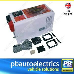 Sterling Power Pro Combi S Inverter Charger & Remote Control 12V 2500W PCS122500